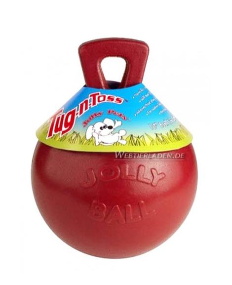 JOLLY BALL Tug-N-Toss 20cm – crvena